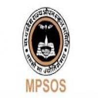MPSOS 12th Class Open Board Exam Date Sheet