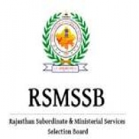 RSMSSB Aganwadi Supervisor Exam Date 2019
