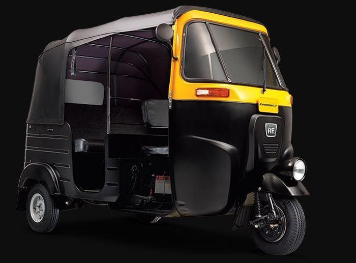 Bajaj RE Compact 4 STROKE  LPG Auto Rickshaw- Price Rs. 2 Lakh (Approx)