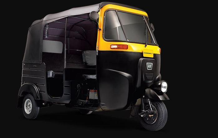 Bajaj RE Compact 2 STROKE LPG Auto Rickshaw- Price Rs. 1.5 Lakh (Approx)