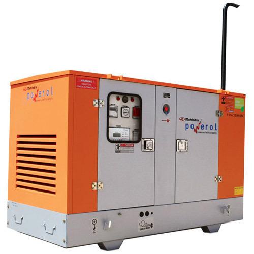 Mahindra Powerol 15 KVA Single Phase Diesal Generator