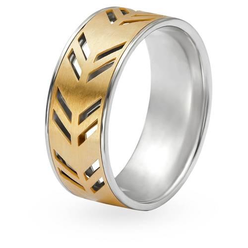 Tanishq Aveer 18KT Yellow Gold Finger Ring For Men